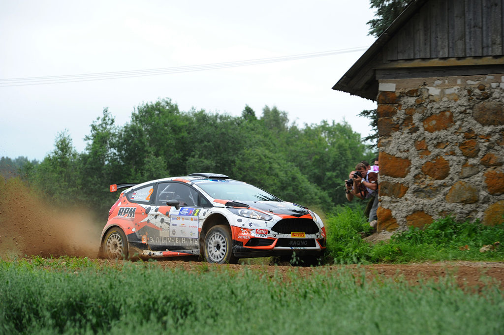 02 LUKYANUK Alexey ARNAUTOV Alexey Ford Fiesta R5 Action during the 2016 European Rally Championship ERC Estonia Rally, from July 15 to 17 at Tallinn, Estonia - Photo Wilfried Marcon / DPPI