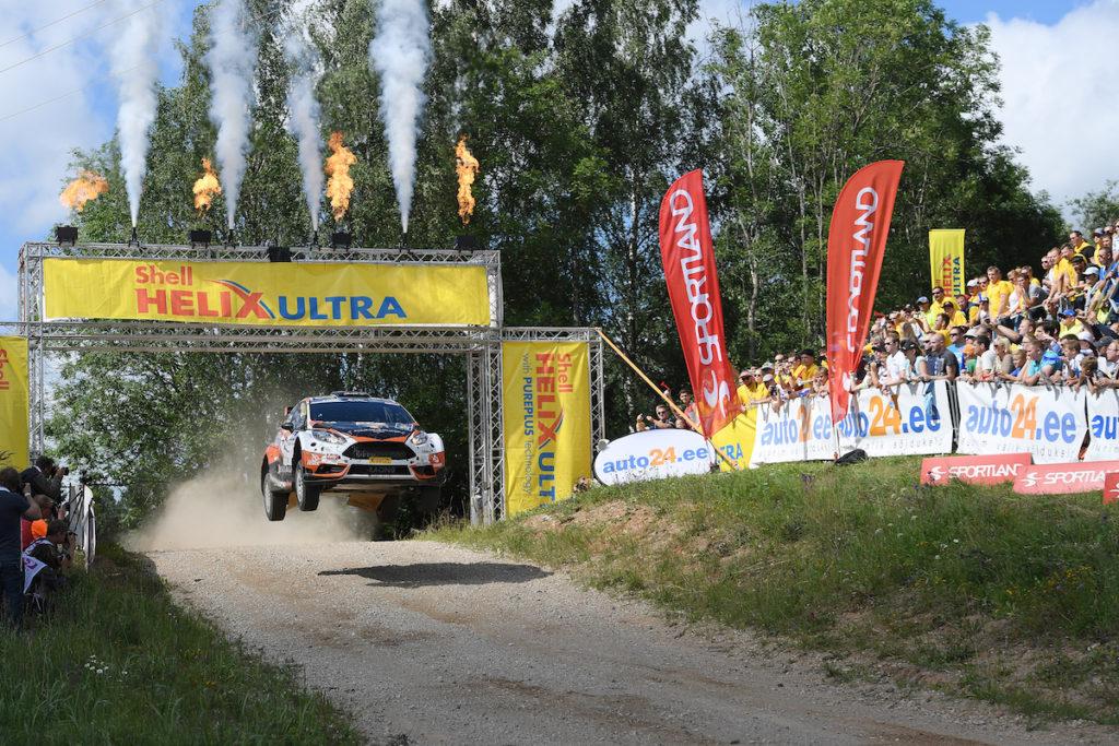 02 LUKYANUK Alexey ARNAUTOV Alexey Ford Fiesta R5 Action during the 2016 European Rally Championship ERC Estonia Rally, from July 15 to 17 at Tallinn, Estonia - Photo Wilfried Marcon / DPPI