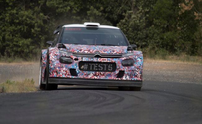 Citroen C3 2017 WRC