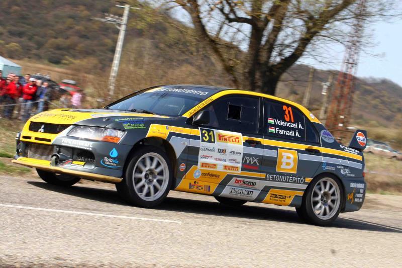 Overdose Racing Team – Székesfehérvár Rallye 2016 Velenczei Ádám – Farnadi Ágnes, Mitsubishi Lancer Evo IX R4