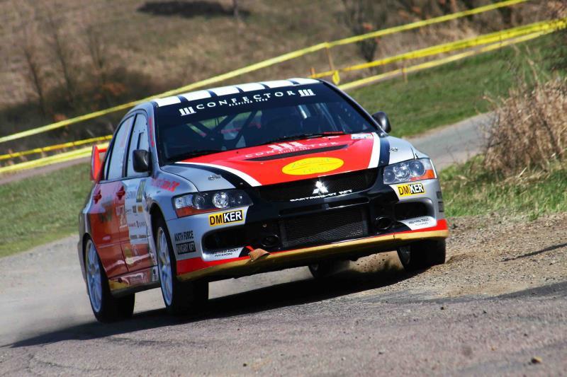 Overdose Racing Team – Székesfehérvár Rallye 2016 Vincze Ferenc – Kuti Péter, Mitsubishi Lancer Evo IX
