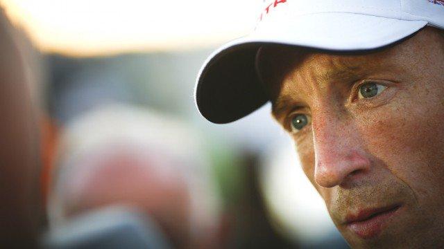 "Kris Meeke vezeti a ""finn hullámvasutat."" Fotó: Media Racing @Media /Twitter"