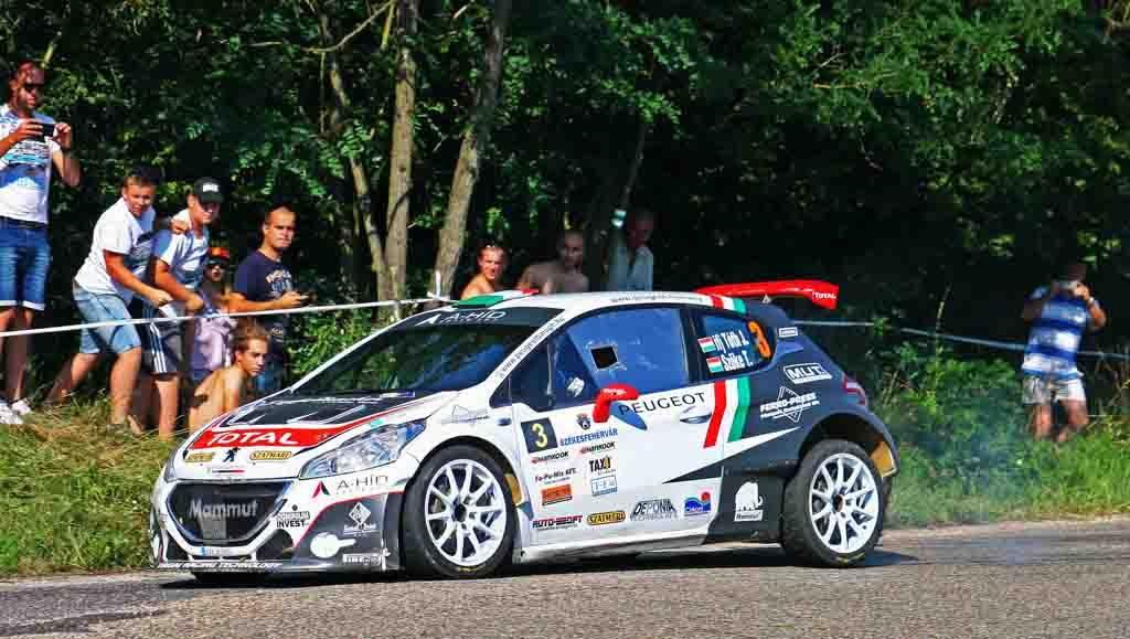 Ifj. Tóth János - Szőke Tamás - Peugeot-Total Hungária Rally Team - Székesfehérvár Rallye -  Gy/9 - Fotó: Máté Zsolt / www.rvo.hu