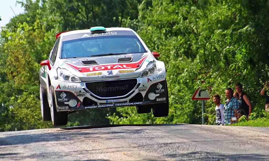 Ifj. Tóth János - Szőke Tamás - Peugeot-Total Hungária Rally Team - Székesfehérvár Rallye -  Gy/6 - Fotó: Máté Zsolt / www.rvo.hu