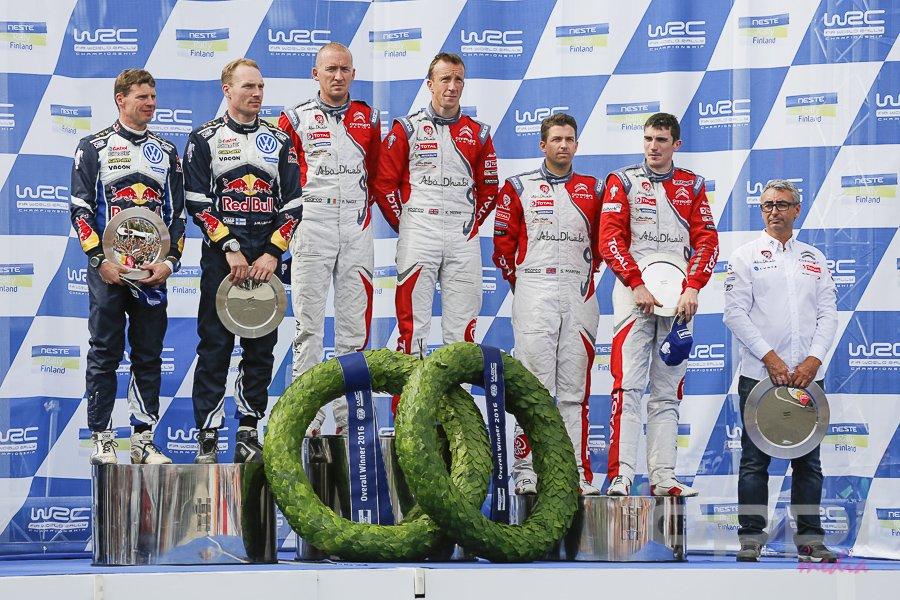 Kris Meeke nyerte a WRC Neste Rally 2016 futamát / Fotó: PH Sport/ Twitter
