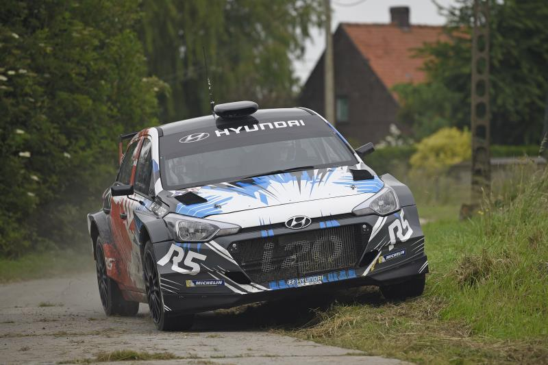 New Generation i20 R5 // Ypres Rally 2016 // Worldwide Copyright: Hyundai Motorsport