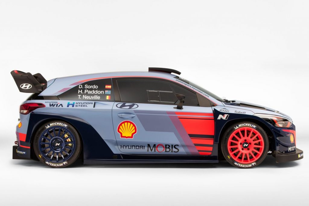 WRC cars are set to become more aggressive in 2017 © Hyundai